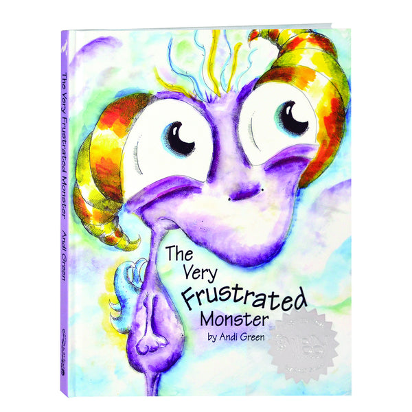 WorryWoo - The Very Frustrated Monster Book | KidzInc Australia | Online Educational Toy Store