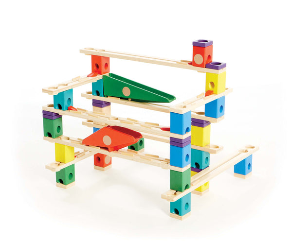 Hape Quadrilla Autobahn Set (174 Pieces) | KidzInc Australia | Online Educational Toy Store