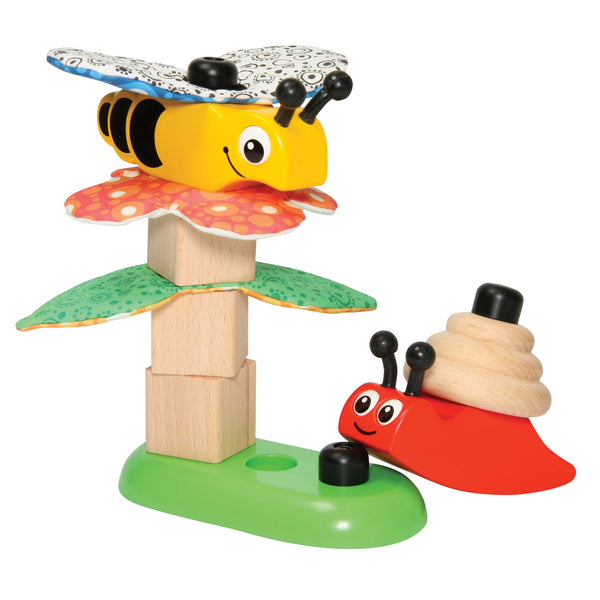 GOTOY - Stacking Wood C | KidzInc Australia | Online Educational Toy Store