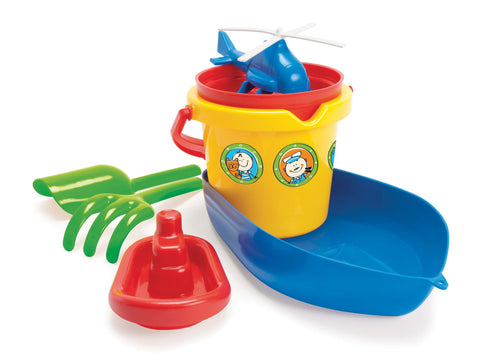 Dantoy - Boat Bucket Set | KidzInc Australia | Online Educational Toy Store