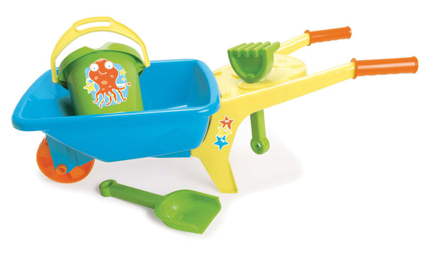Dantoy - Summer Fun Wheelbarrow Set | KidzInc Australia | Online Educational Toy Store
