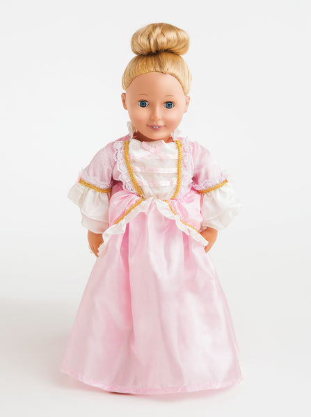 Little Adventures - Doll Dress Pink Parisian | KidzInc Australia | Online Educational Toy Store