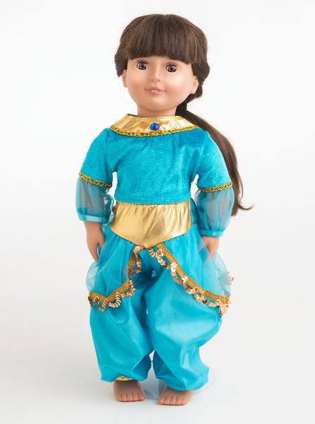 Little Adventures - Doll Dress Arabian Princess | KidzInc Australia | Online Educational Toy Store