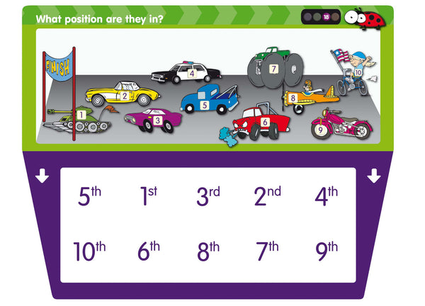 Junior Learning - Number Accelerator Set 1 | KidzInc Australia | Online Educational Toy Store