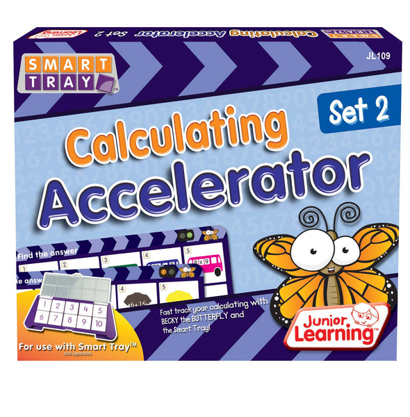 Junior Learning - Calculating Accelerator Set 2 | KidzInc Australia | Online Educational Toy Store