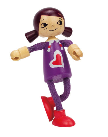 Hape -  Wooden Doll Daughter | KidzInc Australia | Online Educational Toy Store