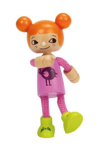 Hape -  Wooden Doll Younger Daughter | KidzInc Australia | Online Educational Toy Store