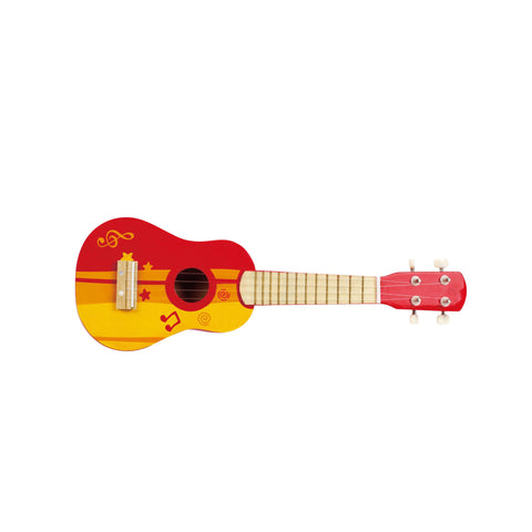 Hape -  Guitar Red | KidzInc Australia | Online Educational Toy Store