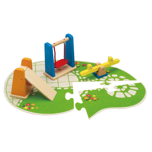 Hape - Doll House Furniture Playground | KidzInc Australia | Online Educational Toy Store