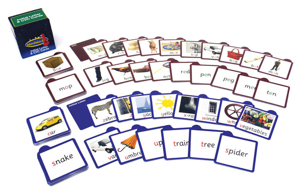 WordWand - Initial Letter and CVC Cards | KidzInc Australia | Online Educational Toy Store