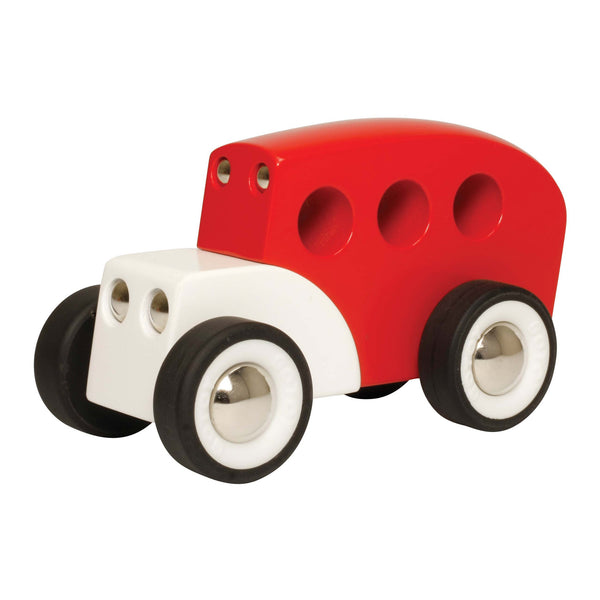 GOTOY - Classic Wood Bus | KidzInc Australia | Online Educational Toy Store