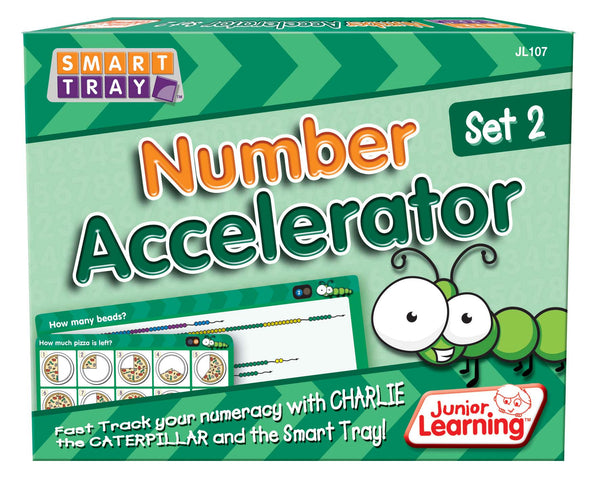 Junior Learning - Number Accelerator Set 2 | KidzInc Australia | Online Educational Toy Store