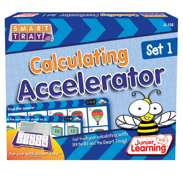 Junior Learning - Calculating Accelerator Set 1 | KidzInc Australia | Online Educational Toy Store