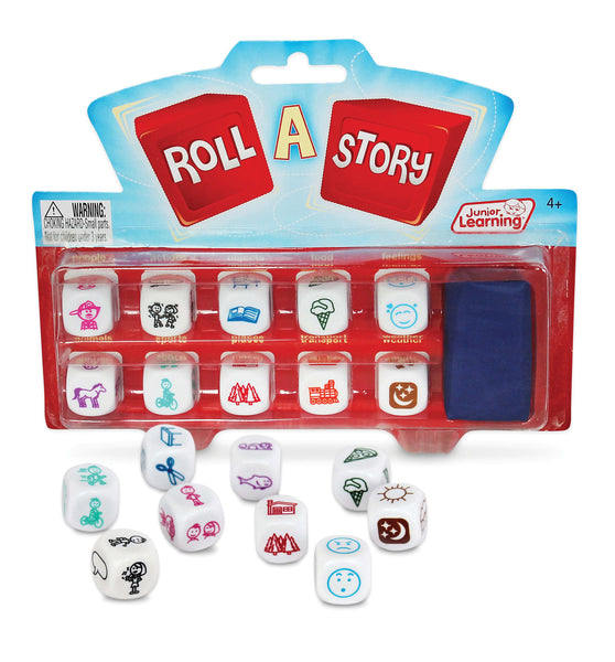 Junior Learning - Roll A Story | KidzInc Australia | Online Educational Toy Store