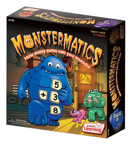 Junior Learning - Monstermatics | KidzInc Australia | Online Educational Toy Store