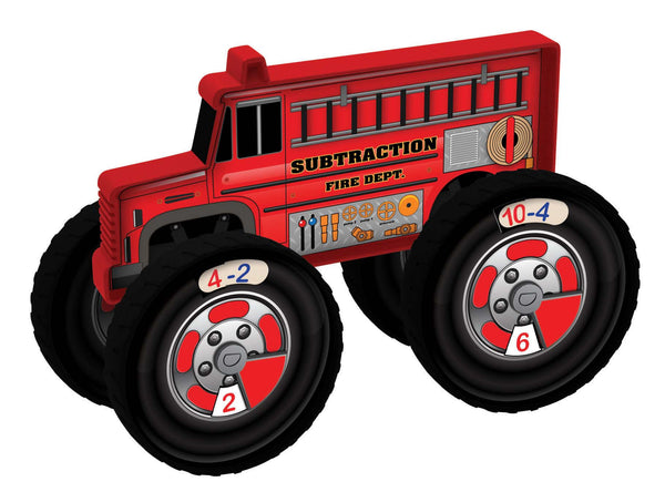 Junior Learning - Number Truck Subtraction Firetruck | KidzInc Australia | Online Educational Toy Store