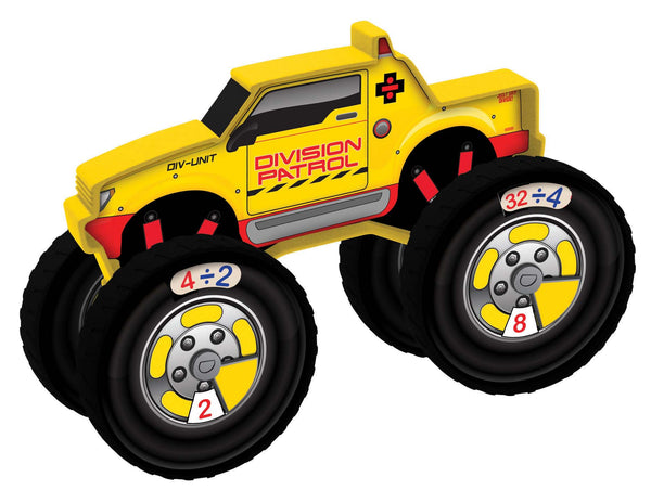 Junior Learning - Number Trucks Division Patrol | KidzInc Australia | Online Educational Toy Store
