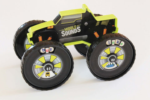 Junior Learning - Read Racers Middle Sound Racer | KidzInc Australia | Online Educational Toy Store