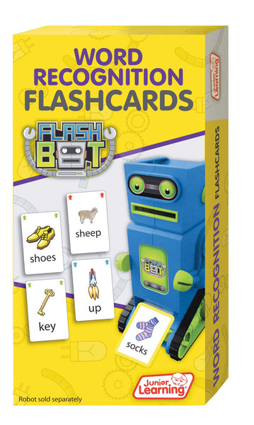 Junior Learning - Word Recognition Flashcards | KidzInc Australia | Online Educational Toy Store