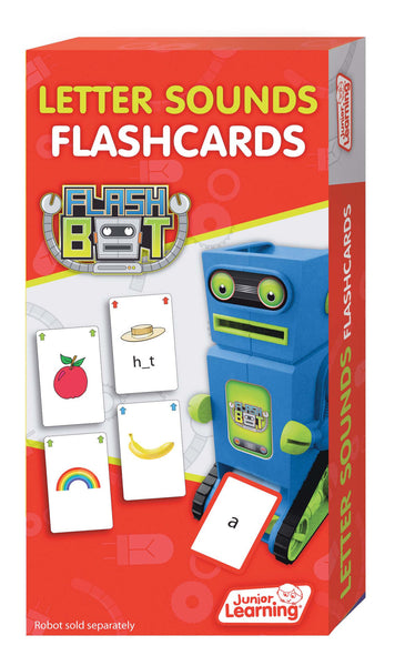 Junior Learning - Letter Sound Flashcards | KidzInc Australia | Online Educational Toy Store