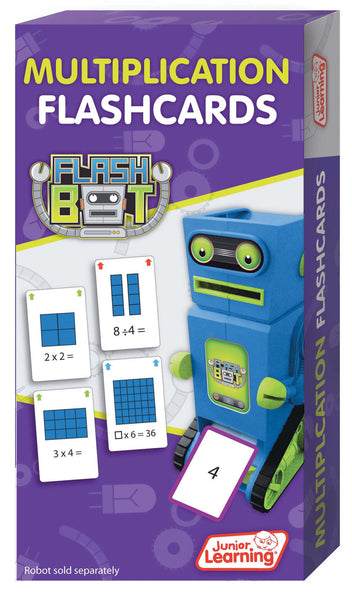 Junior Learning - Multiplication Flashcards | KidzInc Australia | Online Educational Toy Store