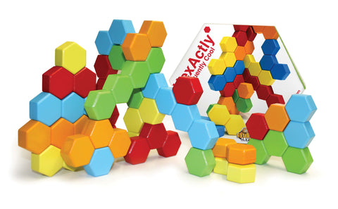 Fat Brain Toy Co - HexActly | KidzInc Australia | Online Educational Toy Store