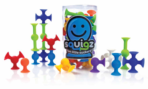 Fat Brain Toy Co - Squigz 24 pieces | KidzInc Australia | Online Educational Toy Store