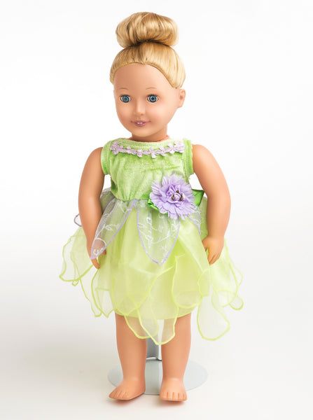 Little Adventures - Tinkerbell Doll Dress | KidzInc Australia | Online Educational Toy Store