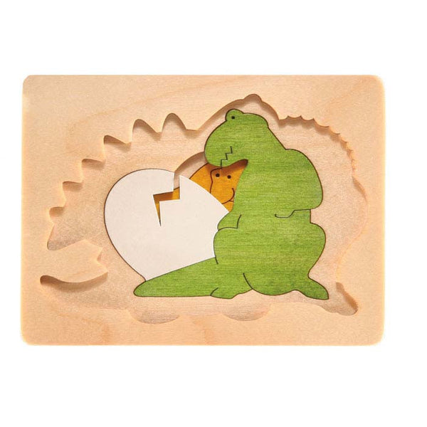 George Luck - Dinosaur & Friends Puzzle | KidzInc Australia | Online Educational Toy Store