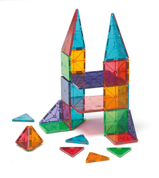 Magna Tiles Clear Colours 32 Piece (Pre-Order) | KidzInc Australia | Online Educational Toy Store