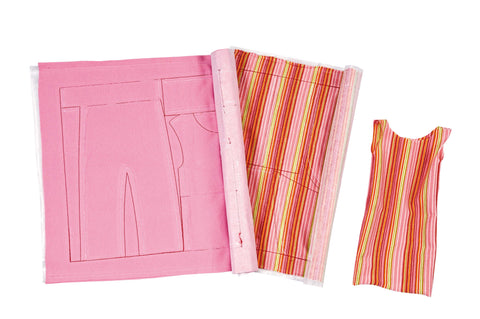 Marie Kruse - Stripes Fabric Clothes Making Set | KidzInc Australia | Online Educational Toy Store