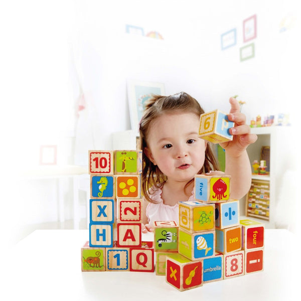 Hape - ABC Blocks | KidzInc Australia | Online Educational Toy Store
