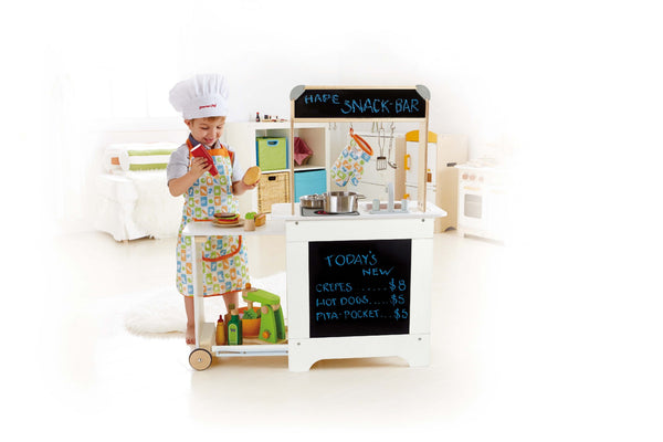 Hape -  Cook n Serve Kitchen | KidzInc Australia | Online Educational Toy Store
