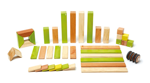 Tegu 42 Piece (Jungle) | KidzInc Australia | Online Educational Toy Store