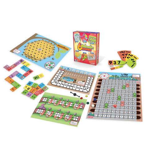 Junior Learning - Mathematics Games, Set of 6 | KidzInc Australia | Online Educational Toy Store