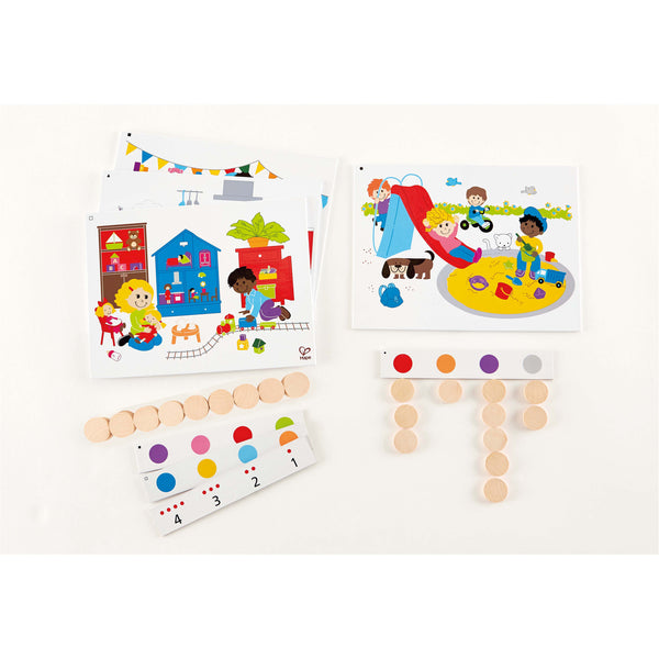 Hape - Find and Count Game | KidzInc Australia | Online Educational Toy Store
