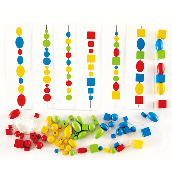 Hape - Logic Beads | KidzInc Australia | Online Educational Toy Store
