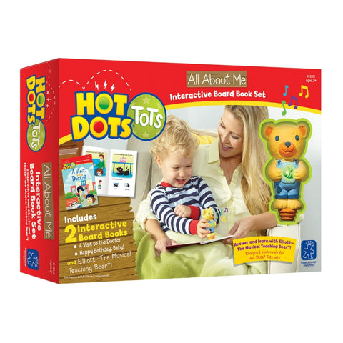 Educational Insights All About Me Interactive Board Book Set | Kidzinc