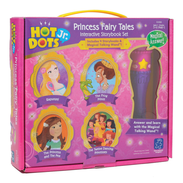 Educational Insights - Hot Dots Jr. Princess Fairy Tales Interactive Book Set | KidzInc Australia | Online Educational Toy Store