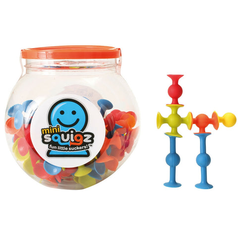 Fat Brain Toys - Mini Squigz | KidzInc Australia | Online Educational Toy Store