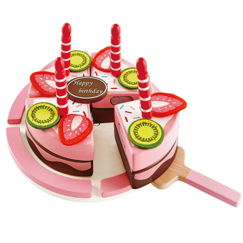 Hape - Double Flavoured Birthday Cake | KidzInc Australia | Online Educational Toy Store