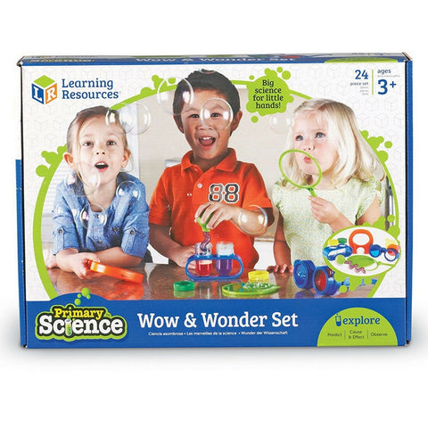 Learning Resources - Primary Science Wow & Wonder STEM Science Set | KidzInc Australia | Online Educational Toy Store