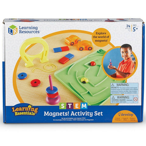 Learning Resources - STEM Magnets Activity Set | KidzInc Australia | Online Educational Toy Store