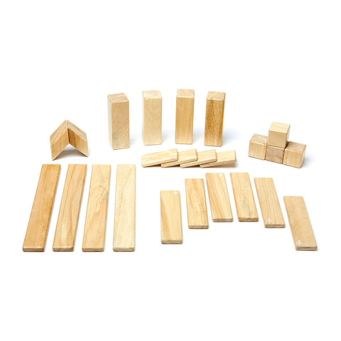 Tegu - 24 Piece (Natural) | KidzInc Australia | Online Educational Toy Store