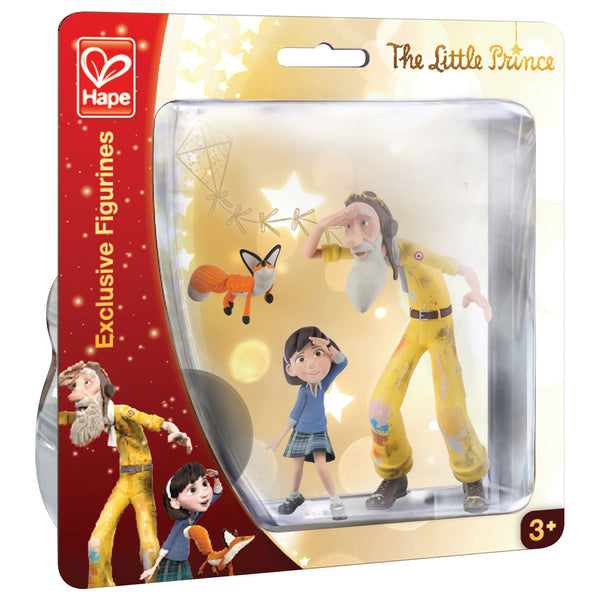 Hape - The Little Prince Exclusive Figurines : Exploring Set | KidzInc Australia | Online Educational Toy Store