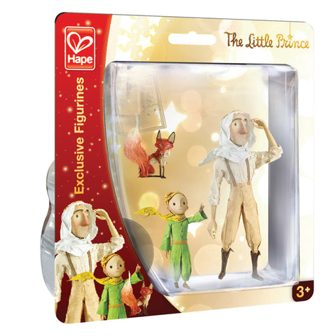 Hape - The Little Prince Exclusive Figurines : Discovering Set | KidzInc Australia | Online Educational Toy Store