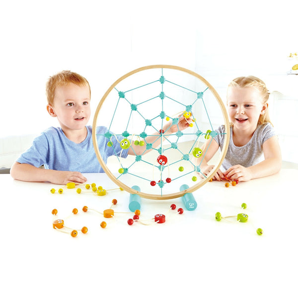 Hape - Tangled Web Toss Game | KidzInc Australia | Online Educational Toy Store