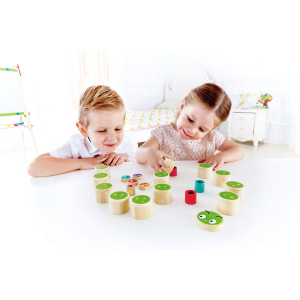 Hape - Create A Caterpillar Game | KidzInc Australia | Online Educational Toy Store