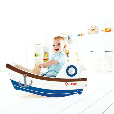 Hape Toys - Rocking Boat | KidzInc Australia | Online Educational Toy Store