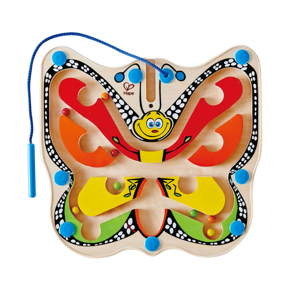 Hape - Colour Flutter Butterfly Wooden Maze Puzzle | KidzInc Australia | Online Educational Toy Store